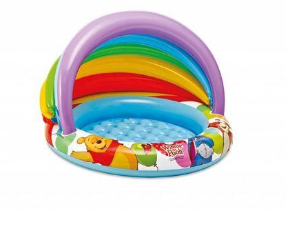 """Детский надувной бассейн """"Винни Пух"""" Intex"""