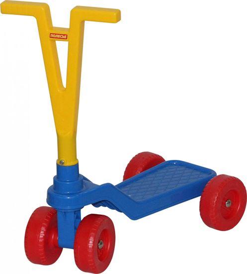 Детский четырехколесный самокат Полесье