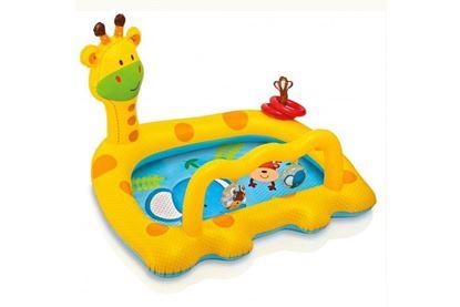 """Детский надувной игровой центр """"Жираф"""""""
