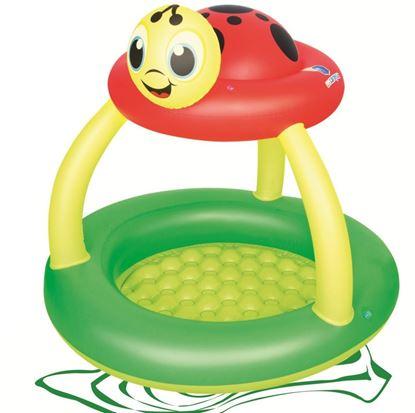 """Детский надувной бассейн """"Божья коровка"""" Bestway от 2 лет"""