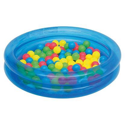 Детский надувной бассейн с набором шариков 50 шт. Bestway