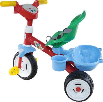 """Велосипед 3-х колёсный """"Беби Трайк"""" со звуковым сигналом и ремешком"""