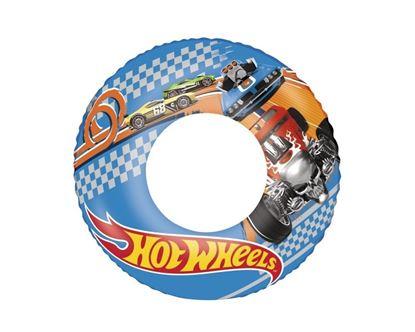 """Надувной плавательный круг для мальчиков """"Hot Wheels"""""""