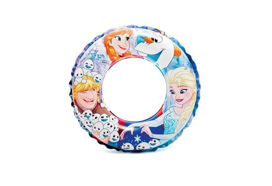 """Надувной круг для плавания """"Холодное сердце"""" 3-6 лет"""