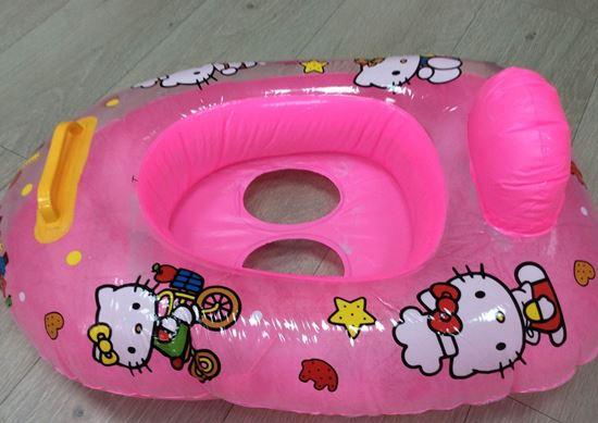 Надувной круг с сиденьем для детей от 1 года