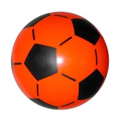 """Резиновый мяч """"Футбол"""" красный"""