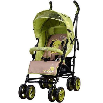 Коляска Bambini GALANT зелёная