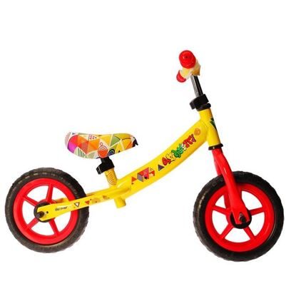 Беговел graffiti discover желтый, 10-дюймовые колеса
