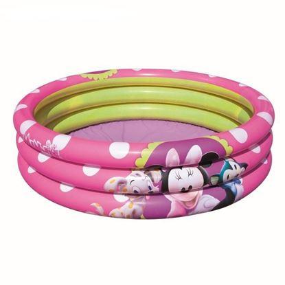"""Розовый надувной детский бассейн """"Минни Маус"""" от Bestway"""