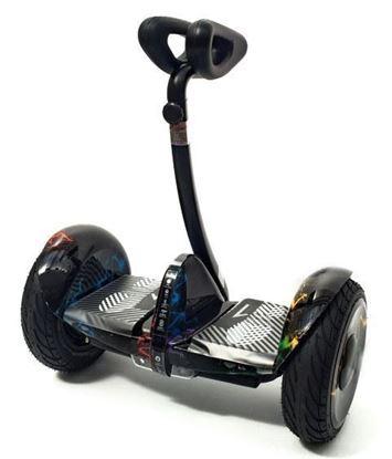 """Гироскутер Mini-Robot Pro 10,5"""", самобаланс + APP, цветная молния"""