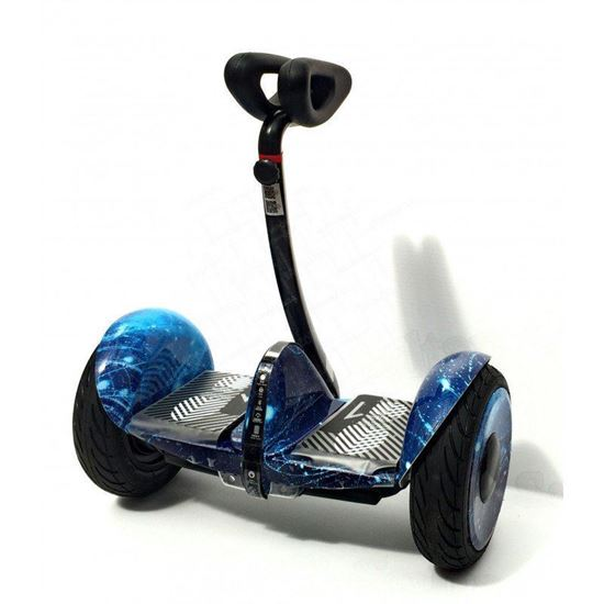 Гироскутер Mini-Robot Pro 10,5 синий космос