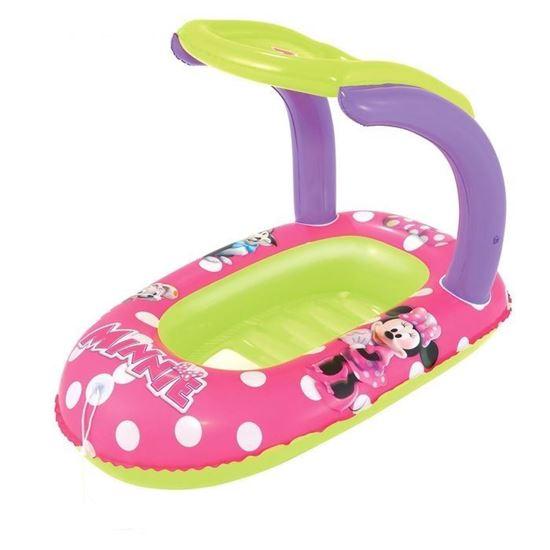 """Надувная лодочка с тентом """"Minnie Mouse"""""""