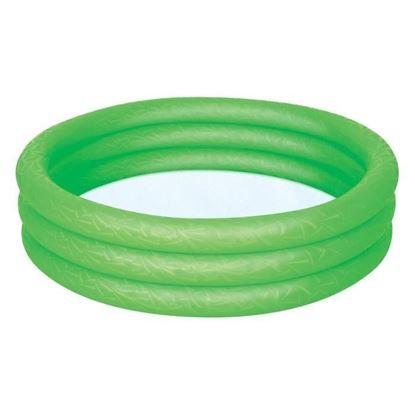 """Детский надувной бассейн """"Сияние"""" зеленый"""