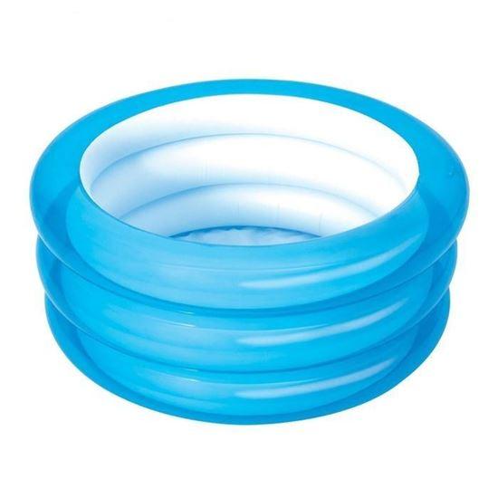 Надувной круглый бассейн для малышей