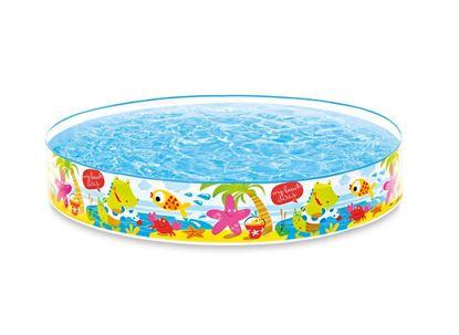 """Детский бассейн с жестким бортом """"Пляж"""""""