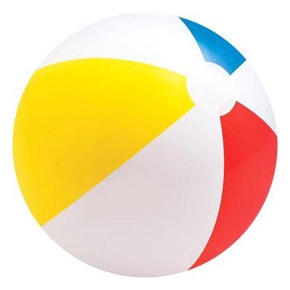 """Надувной мяч для пляжа """"Цветной"""""""