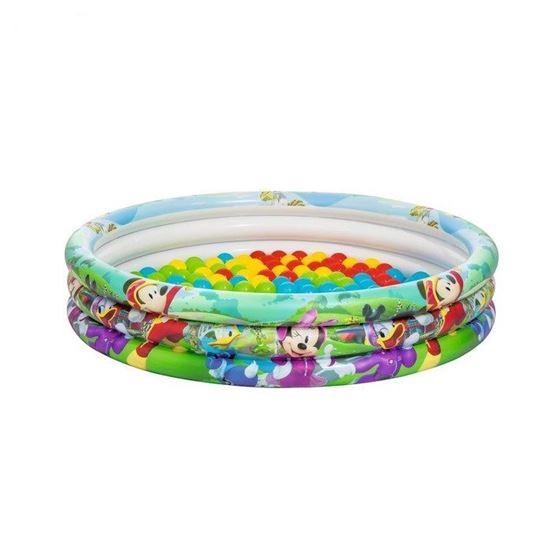 """Надувной бассейн """"Микки и его друзья"""" с комплектом шариков"""