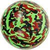 """Детский резиновый мяч """"Милитари"""" зеленый"""