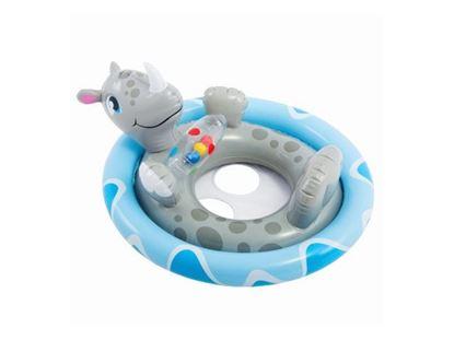 """Детский надувной круг """"Зверюшки"""" носорог"""