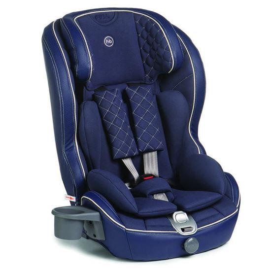 Автокресло Happy Baby Mustang isofix синее
