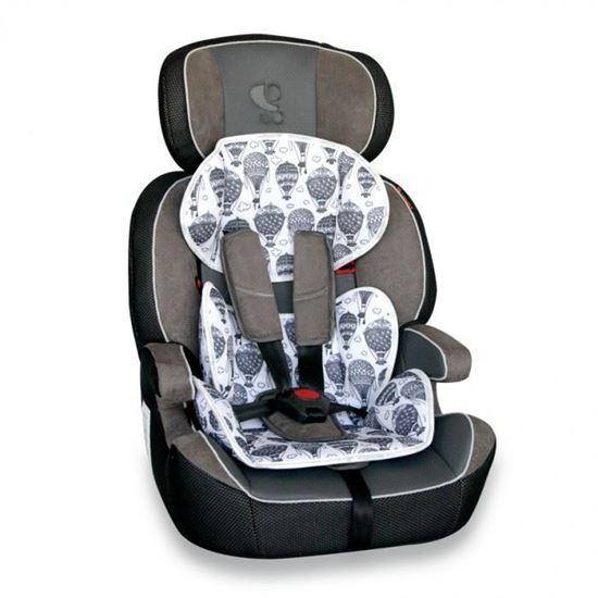 Автокресло детское Bertoni Navigator новый серый