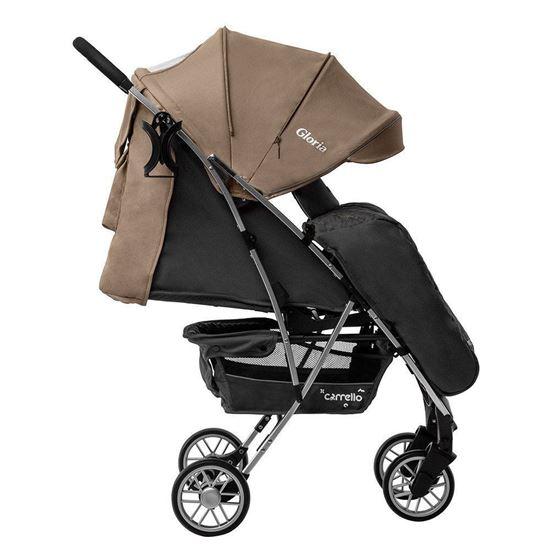 Прогулочная коляска Carrello Gloria бежевый