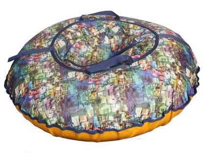 Санки - ватрушка тюбинг 85см краски леса