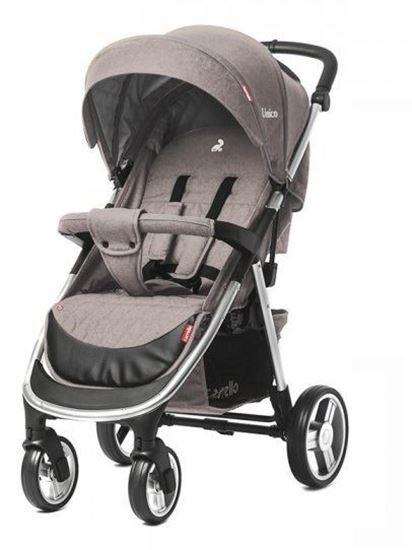 прогулочная коляска Carrello Unico, серый цвет