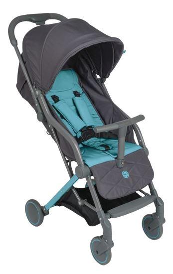 Прогулочная коляска Happy Baby Umma серый цвет