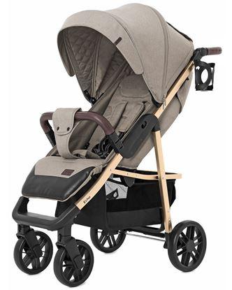 Прогулочная коляска Baby Tilly Eco T-166 (Carrello Echo) Camel beige