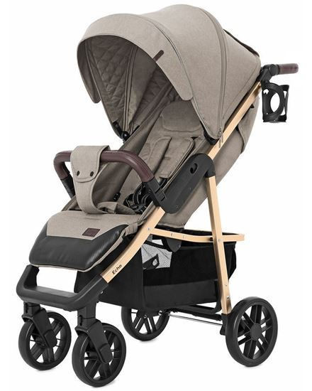Прогулочная коляска Baby Tilly Eco T-166 (Carrello Echo) Camel beige