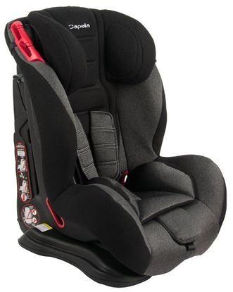 Автокресло Capella S12310 чёрный мягкий